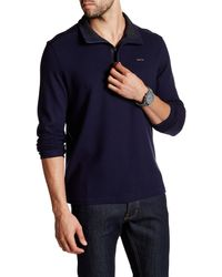 CALVIN KLEIN 205W39NYC - Long Sleeve Mock Neck Pullover - Lyst