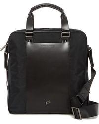 Porsche Design - Shyrt Nylon & Leather Brief Bag Mv - Lyst