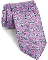 JZ Richards - Geometric Silk Tie - Lyst