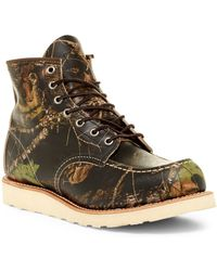 a639c1338b4 Red Wing - 6 Inch Moc Toe Leather Boot - Factory Second - Wide Width  Available