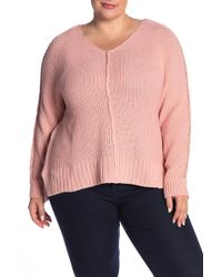 Lucky Brand - V-neck Pullover Sweater (plus Size) - Lyst