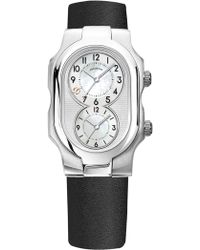 Philip Stein - Signature Small Dual Time Zone Watch - Lyst