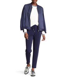 GANT - Drapy Jersey Pant - Lyst
