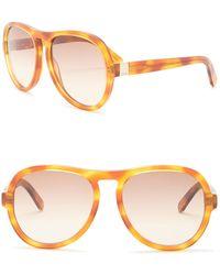 Chloé - Aviator 59mm Sunglasses - Lyst