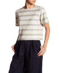 Native Youth | Textured Stripe Tee | Lyst