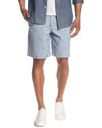 29f9f3b5bfc Joe Fresh - Sailboat Embroidered Chino Shorts - Lyst