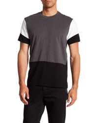 Kenneth Cole - Color Block Tee - Lyst