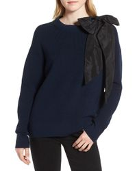 Chelsea28 - Bow Shoulder Sweater - Lyst