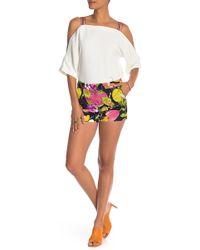 Trina Turk - Corbin Tropical Print Shorts - Lyst
