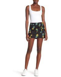 Lea & Viola - Pineapple Print Skirt - Lyst