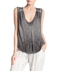 Tina + Jo - Double Layer Tank - Lyst