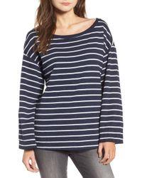 Treasure & Bond - Bell Sleeve Sweatshirt - Lyst