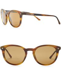 Giorgio Armani - Men's Wayfarer 50mm Acetate Frame Sunglasses - Lyst