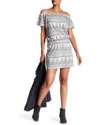 Soft Joie - Danyale Off-the-shoulder Print Dress - Lyst