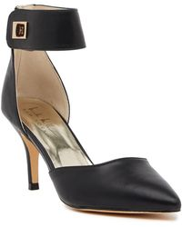 Nicole Miller - Brandy Turn-lock Pump - Lyst