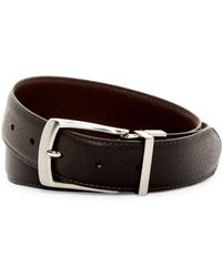 Will Leather Goods - Reversible Feather Edge Leather Belt - Lyst