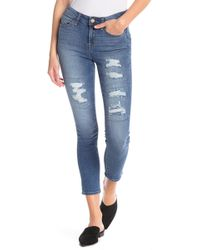 William Rast - The Perfect Ankle Skinny Jeans - Lyst