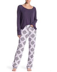 Love+Grace - Emma Bellflower Print Pajama Pants - Lyst