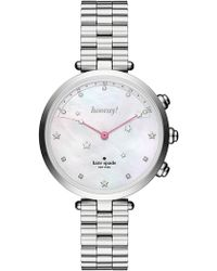 Kate Spade - Women's Holland Hybrid Bracelet Watch, 34mm - Lyst