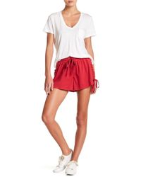 Honey Punch - Lace-up Shorts - Lyst