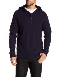 Vince | Hooded Henley | Lyst