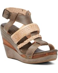 Bed Stu - Jaslyn Wedge Sandal - Lyst
