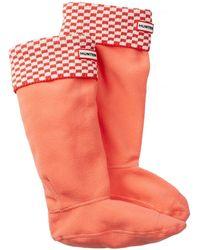 HUNTER - Original Tall Square Brick Boot Sock - Lyst