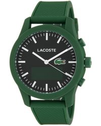 Lacoste - Men's 12.12 Contact Bluetooth Smart Watch - Lyst