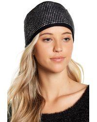 MICHAEL Michael Kors - Heat Seal Rhinestone Studded Headband - Lyst