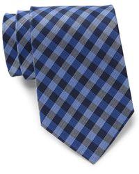 Tommy Hilfiger - Classic Gingham Silk Tie - Lyst