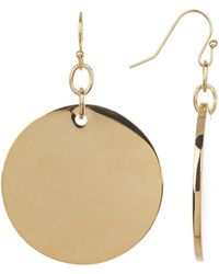 Trina Turk - Disc Drop Earrings - Lyst