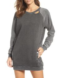 The Laundry Room - Lounge Sweatshirt Dress - Lyst