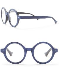 Ellen Tracy - Vintage Round Woodlike Reading Glasses - Lyst