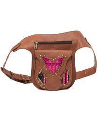 Raj - Gabriella Leather Belt Bag - Lyst