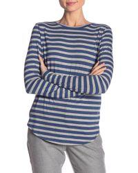 Vince - Little Boy Crew Neck Stripe Shirt - Lyst