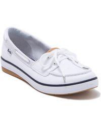 122b2389 Keds - Charter Chalk Stripe Boat Shoe - Lyst