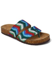 Mata Shoes - Summer Pattern Flat Sandal - Lyst