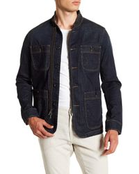 John Varvatos - Patch Pocket Workwear Jacket - Lyst