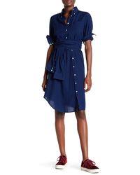 GANT - Smile Oxford Dress - Lyst