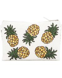 G-Lish - Pineapple Pouch - Lyst