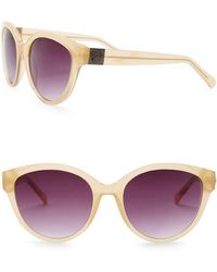 Vince Camuto - 52mm Metal Temple Cat Eye Sunglasses - Lyst