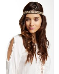 Noir Jewelry - Beaded Stretch Headband - Lyst