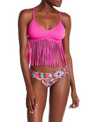 Eco Peace by Aqua Green - Estereo Siouxsie Reversible Hispter Bottom - Lyst