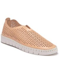 Jeffrey Campbell - Tiles Perforated Slip-on Sneaker (women) - Lyst