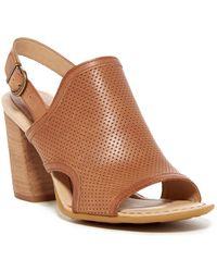 Born - Stella Perforated Sandal - Lyst
