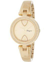 Ferragamo - Women's Gilio Bracelet Watch - Lyst