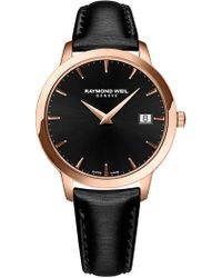 Raymond Weil - Women's Toccata Strap Watch, 34mm - Lyst