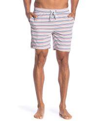 Onia - Alek Mid-length Striped Swim Shorts - Lyst