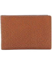 Fossil - Coby Leather Money Clip Wallet - Lyst