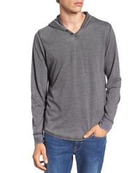 Lucky Brand - Burnout Hoodie - Lyst